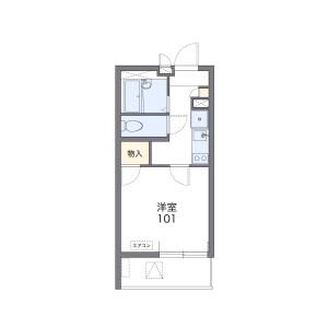 1K Mansion in Ogibashi - Koto-ku Floorplan