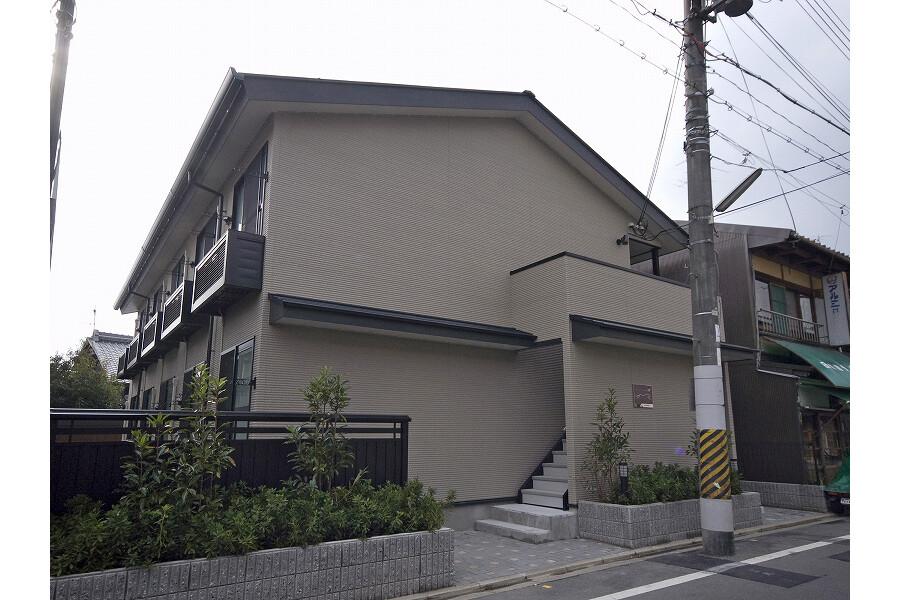 1K アパート 京都市北区 外観