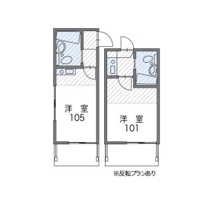1K Apartment in Minamishinagawa - Shinagawa-ku Floorplan