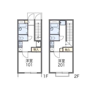 1K Apartment in Aoto - Katsushika-ku Floorplan