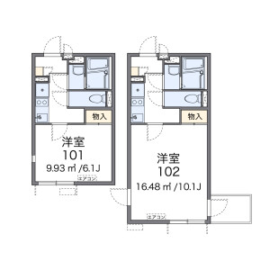 1K 아파트 in Nishiwaseda(sonota) - Shinjuku-ku Floorplan