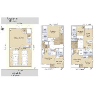Whole Building {building type} in Fukuzumi - Koto-ku Floorplan