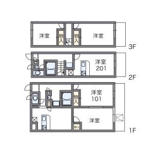 2DK Apartment in Onji kitamachi - Yao-shi Floorplan