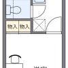 1K 아파트 to Rent in Kawagoe-shi Floorplan