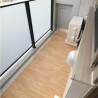 1LDK Apartment to Rent in Minato-ku Balcony / Veranda