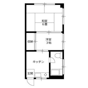 2K Mansion in Suido - Bunkyo-ku Floorplan