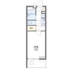 1K Mansion in Fussa - Fussa-shi Floorplan