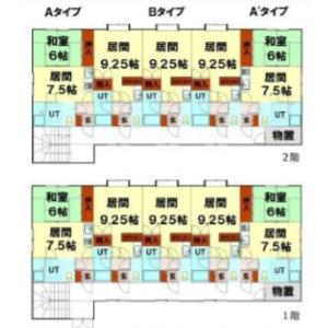 Whole Building {building type} in Matsugae - Otaru-shi Floorplan