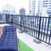 3LDK Apartment to Buy in Shibuya-ku Balcony / Veranda