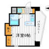 1R Apartment to Buy in Osaka-shi Tennoji-ku Floorplan