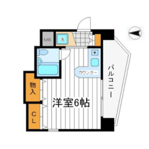 1R {building type} in Daido - Osaka-shi Tennoji-ku Floorplan