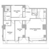 2SLDK Apartment to Rent in Shibuya-ku Floorplan