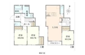 3LDK {building type} in Mori - Yokohama-shi Isogo-ku