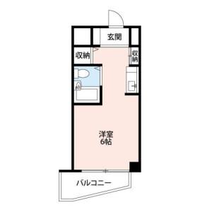 1K 맨션 in Honcho - Kawaguchi-shi Floorplan