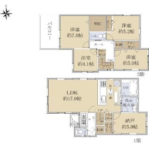 4SLDK {building type} in Higashioizumi - Nerima-ku Floorplan