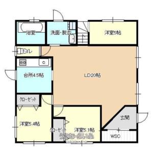 3LDK {building type} in Shinzato - Kunigami-gun Motobu-cho Floorplan