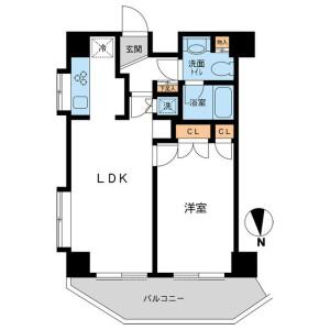 1LDK Mansion in Ikejiri - Setagaya-ku Floorplan