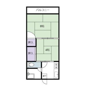 2K {building type} in Ebisuminami - Shibuya-ku Floorplan