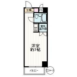 1R Mansion in Hakusan(2-5-chome) - Bunkyo-ku Floorplan