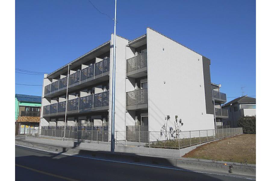 1K Apartment to Rent in Misato-shi Exterior