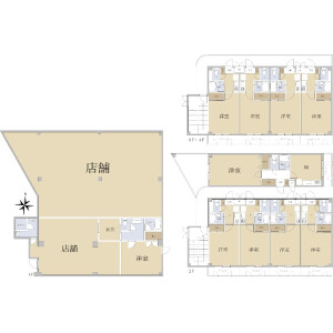 Whole Building {building type} in Kodo - Kyotanabe-shi Floorplan