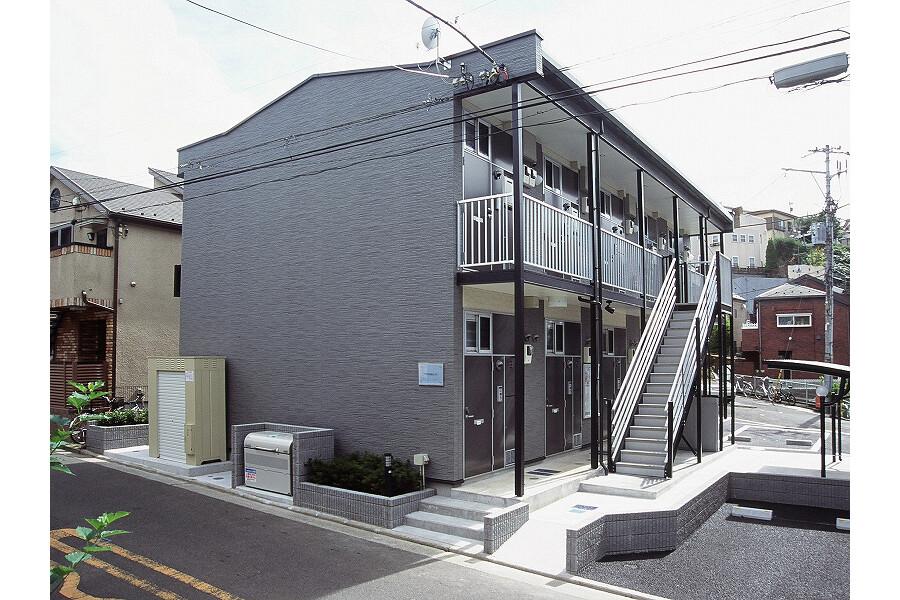 在横浜市中区内租赁1K 公寓 的 户外