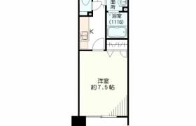 1K {building type} in Chikkohommachi - Fukuoka-shi Hakata-ku