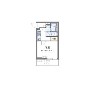 1K Mansion in Daishi ekimae - Kawasaki-shi Kawasaki-ku Floorplan
