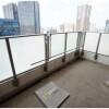 3LDK Apartment to Buy in Chiyoda-ku Balcony / Veranda