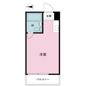 1R {building type} in Taishido - Setagaya-ku Floorplan