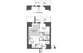 1LDK Mansion in Iidabashi - Chiyoda-ku