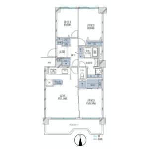 3LDK {building type} in Hikarigaoka - Nerima-ku Floorplan
