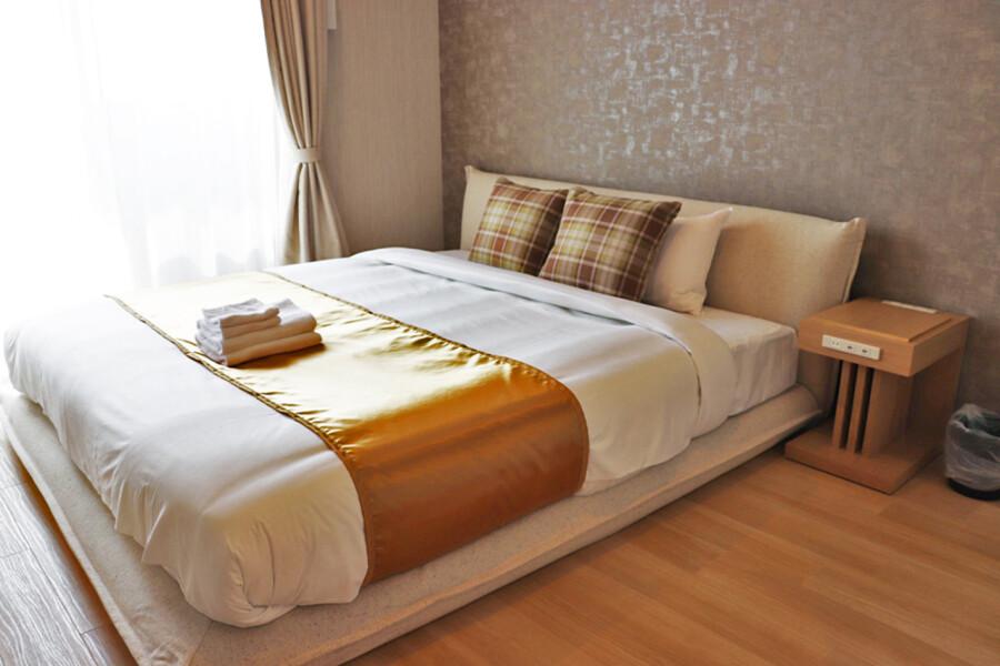 2LDK Apartment to Rent in Osaka-shi Naniwa-ku Bedroom