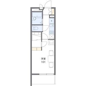 1K Mansion in Kanaokacho - Sakai-shi Kita-ku Floorplan