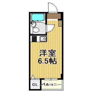 1R Mansion in Chikko - Osaka-shi Minato-ku Floorplan