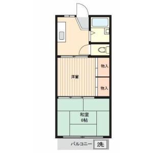 2K Mansion in Aoto - Katsushika-ku Floorplan
