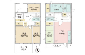 3LDK {building type} in Miyasaka - Setagaya-ku