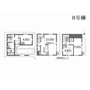 3LDK {building type} in Takasago - Katsushika-ku Floorplan