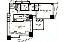 3LDK Mansion in Kawadacho - Shinjuku-ku