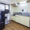2DK Apartment to Rent in Shinagawa-ku Kitchen