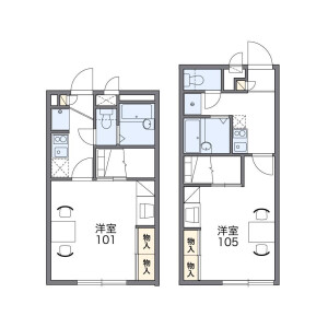 1K Mansion in Kume - Naha-shi Floorplan