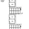 1K Apartment to Rent in Konosu-shi Layout Drawing