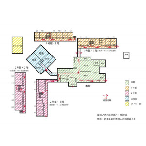 Whole Building {building type} in Isawaku wakayanagi - Oshu-shi Floorplan