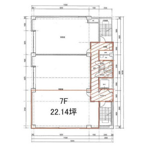 Office - Commercial Property in Chuo-ku Floorplan