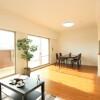 在尼崎市購買4SLDK 公寓大廈的房產 起居室