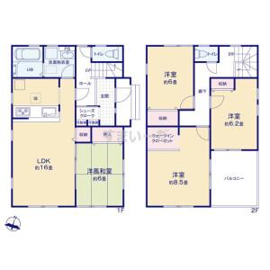 4LDK {building type} in Fukuro - Konosu-shi Floorplan