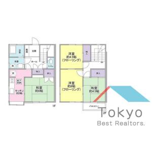 4K House in Chuo - Nakano-ku Floorplan