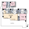 3SLDK Apartment to Buy in Minato-ku Floorplan
