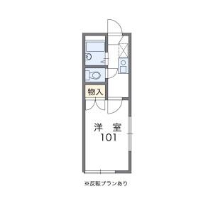 1K Apartment in Mukogaoka - Bunkyo-ku Floorplan