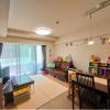 在目黒區購買2LDK 公寓大廈的房產 起居室